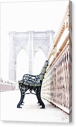 Brooklyn Bridge Canvas Print by Nishanth Gopinathan