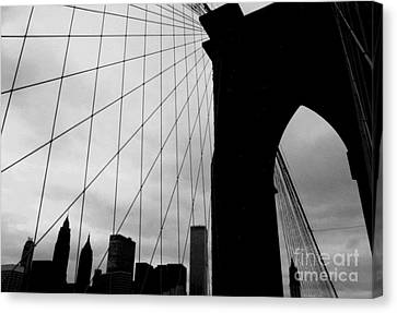 Brooklyn Bridge No.2 Canvas Print
