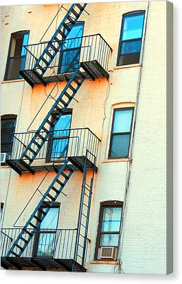 Brooklyn Fire Escape Canvas Print