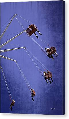 Brooklyn Flyer 2013 - Coney Island - Brooklyn - Ny Canvas Print by Madeline Ellis