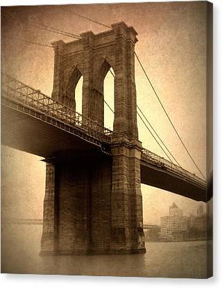 Brooklyn Nostalgia Canvas Print by Jessica Jenney