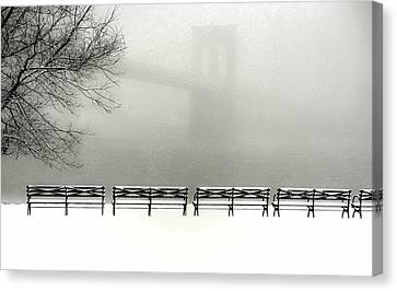 Brooklyn Snow Canvas Print