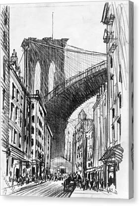 Brooklyn Tenements, C1909 Canvas Print by Granger