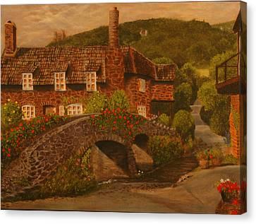Brookstone Inn Canvas Print by Rick Fitzsimons