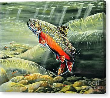 Brooky Hookup Canvas Print