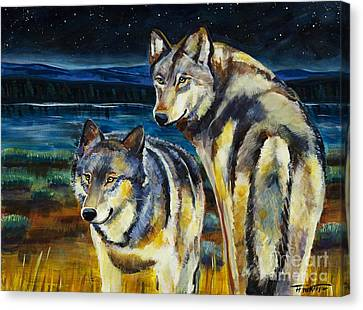 Brothers Canvas Print by Harriet Peck Taylor
