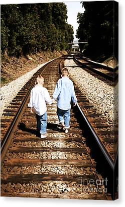 Brothers Canvas Print by Suzi Nelson