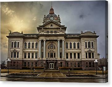 Brown County Courthouse Canvas Print by Thomas Zimmerman