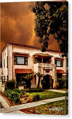 Brown House 2 Canvas Print by Bob Winberry