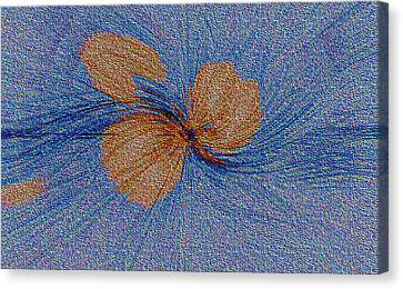Brown Leaf Afloat Canvas Print by Bruce Iorio