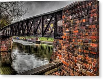 Browns Bridge England Canvas Print by Adrian Evans