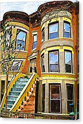 Brownstone Canvas Print