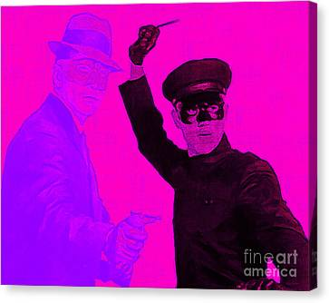 Bruce Lee Kato And The Green Hornet 20130216m88 Canvas Print by Wingsdomain Art and Photography
