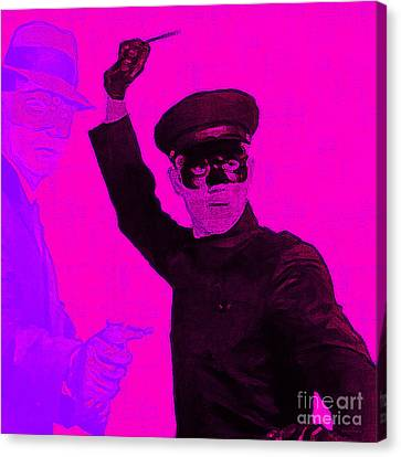 Bruce Lee Kato And The Green Hornet - Square M88 Canvas Print by Wingsdomain Art and Photography