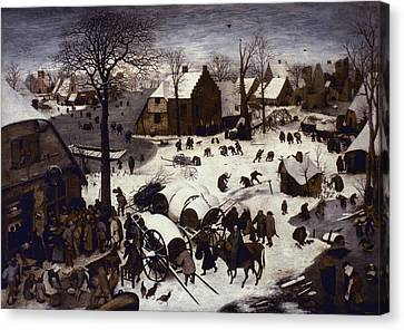 Bruegel Numbering, 1566 Canvas Print