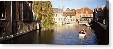 Brugge Belgium Canvas Print by Panoramic Images