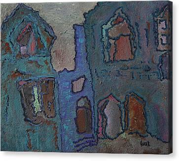 Brugge Canvas Print by Oscar Penalber