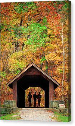Brush Creek Covered Bridge Canvas Print