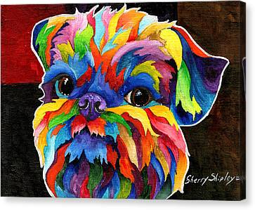 Brussels Griffon Canvas Print