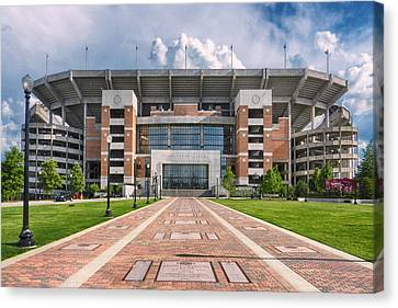 Bryant Denny Stadium Canvas Print by Ben Shields