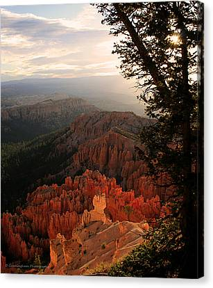 Bryce Canyon Early Morning View Canvas Print