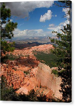 Canvas Print featuring the photograph Bryce Canyon by Jon Emery
