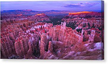 Bryce Canyon Overlook II Canvas Print