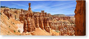 Bryce Canyon Panoramic Canvas Print by Mike McGlothlen