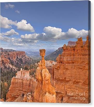 Bryce Canyon Utah Usa Canvas Print by Colin and Linda McKie