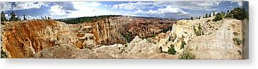 Bryce Panoramic Canvas Print
