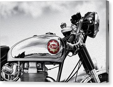 Bsa Goldstar Canvas Print