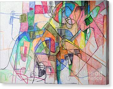 bSeter Elyion 28 Canvas Print by David Baruch Wolk