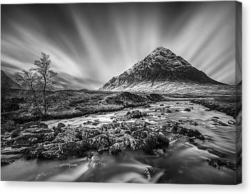 Buachaille Etive Mor 2 Canvas Print by Dave Bowman