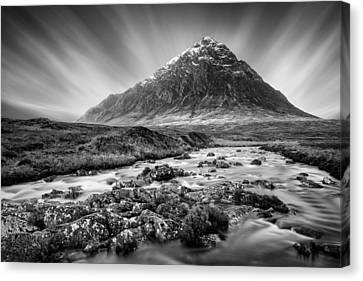Buachaille Etive Mor 3 Canvas Print by Dave Bowman