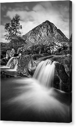 Buachaille Etive Mor 4 Canvas Print by Dave Bowman