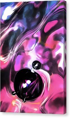 Bubble Bazinga Canvas Print by Terril Heilman