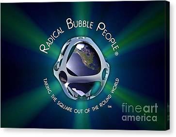 Bubble Mantra Canvas Print