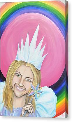 Bubble Of Vanity Canvas Print by Meganne Peck