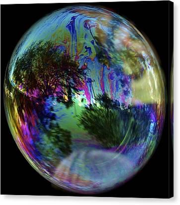 Bubble Reflection Canvas Print
