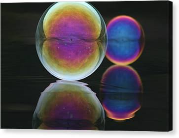 Bubble Spectacular Canvas Print