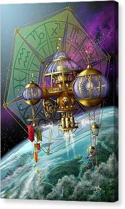 Bubble Telescope Canvas Print by Ciro Marchetti