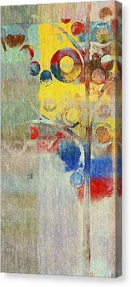 Bubble Tree - 43ff04 Right Canvas Print by Variance Collections