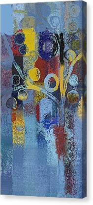 Bubble Tree - 7376106l Canvas Print by Variance Collections