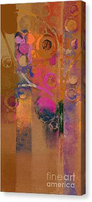 Bubble Tree - Rw91 Canvas Print by Variance Collections