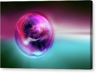 Bubble Universe Canvas Print