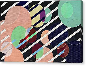 Bubble Universe Canvas Print by Linda Dunn