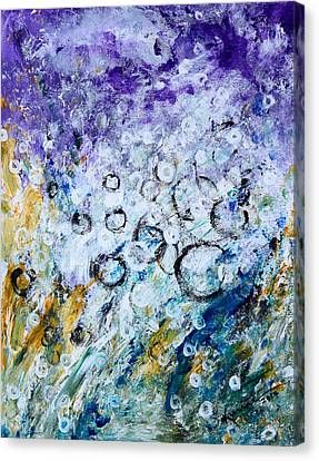 Bubbles Canvas Print by Kume Bryant