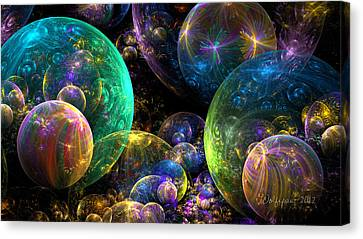 Bubbles Upon Bubbles Canvas Print