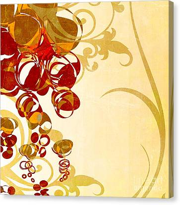 Bubbling Bubbles - 102br03 Canvas Print by Variance Collections
