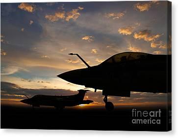 Buccaneer Sunset Canvas Print